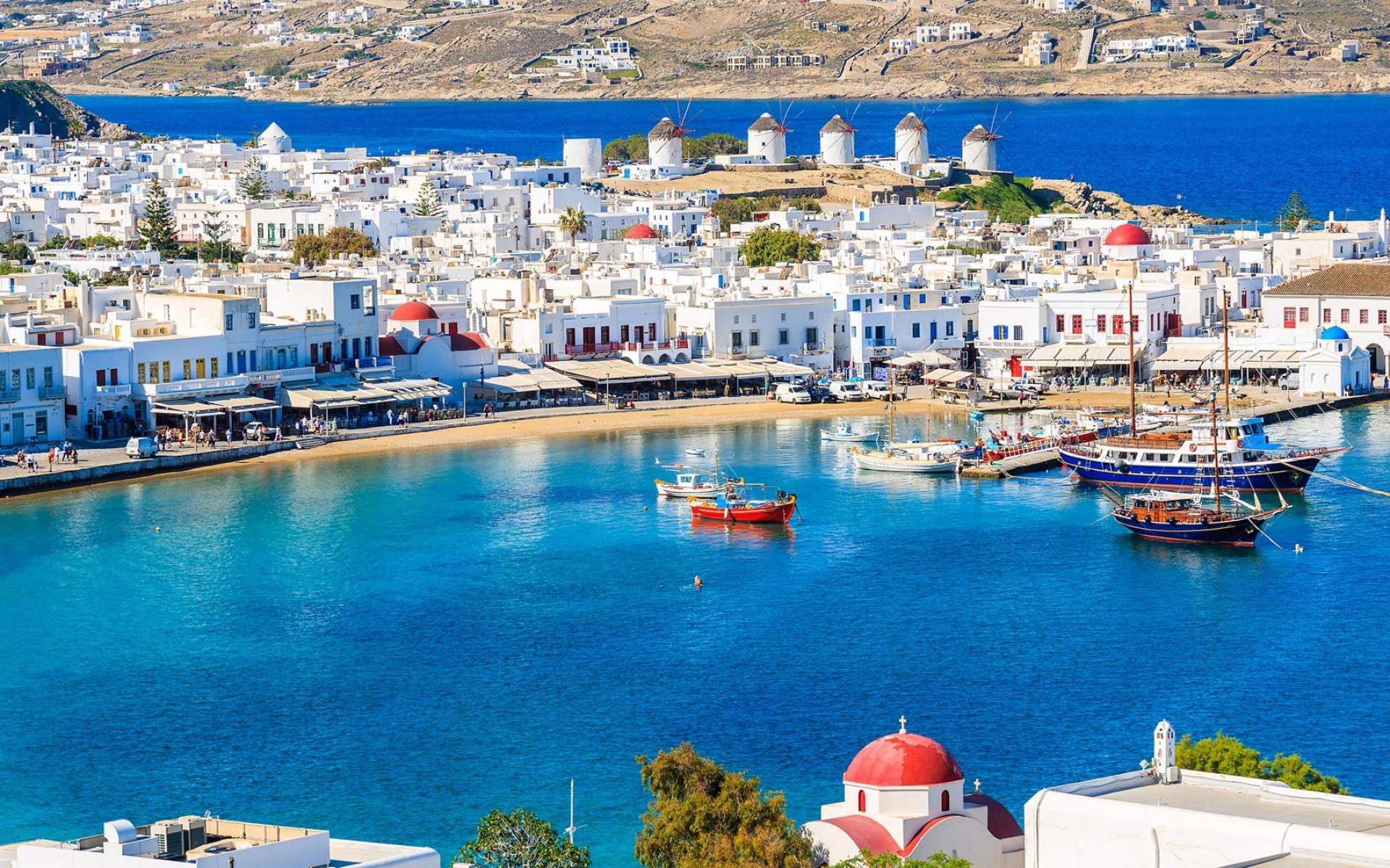 VIAJE A DUBAI Y GRECIA CON MYKONOS, SANTORINI & CRETA